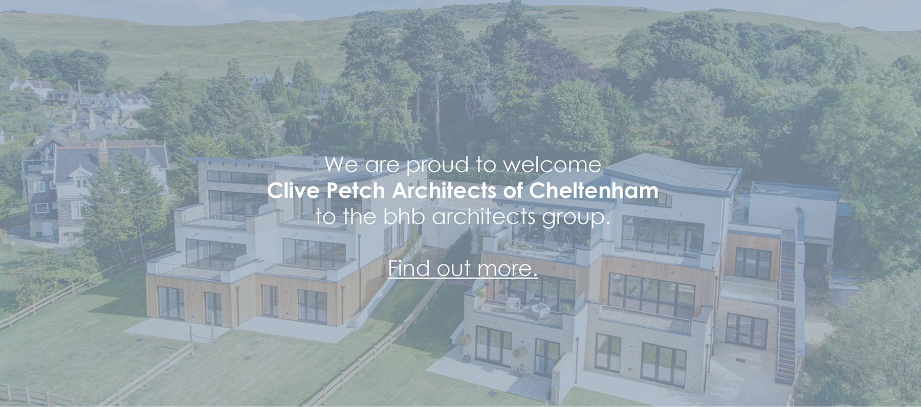 We are pround to welcome Clive Petch Architects of Cheltenham to the bhb architects group.